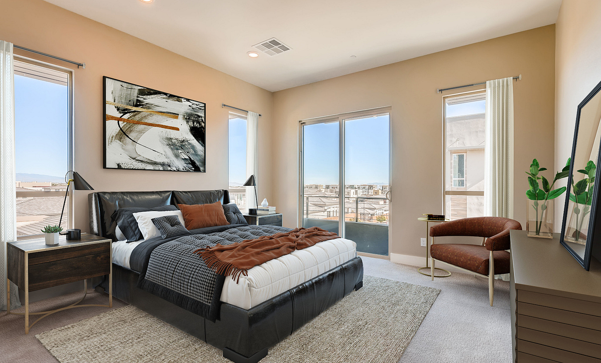 Trilogy Summerlin Apex Master Bedroom