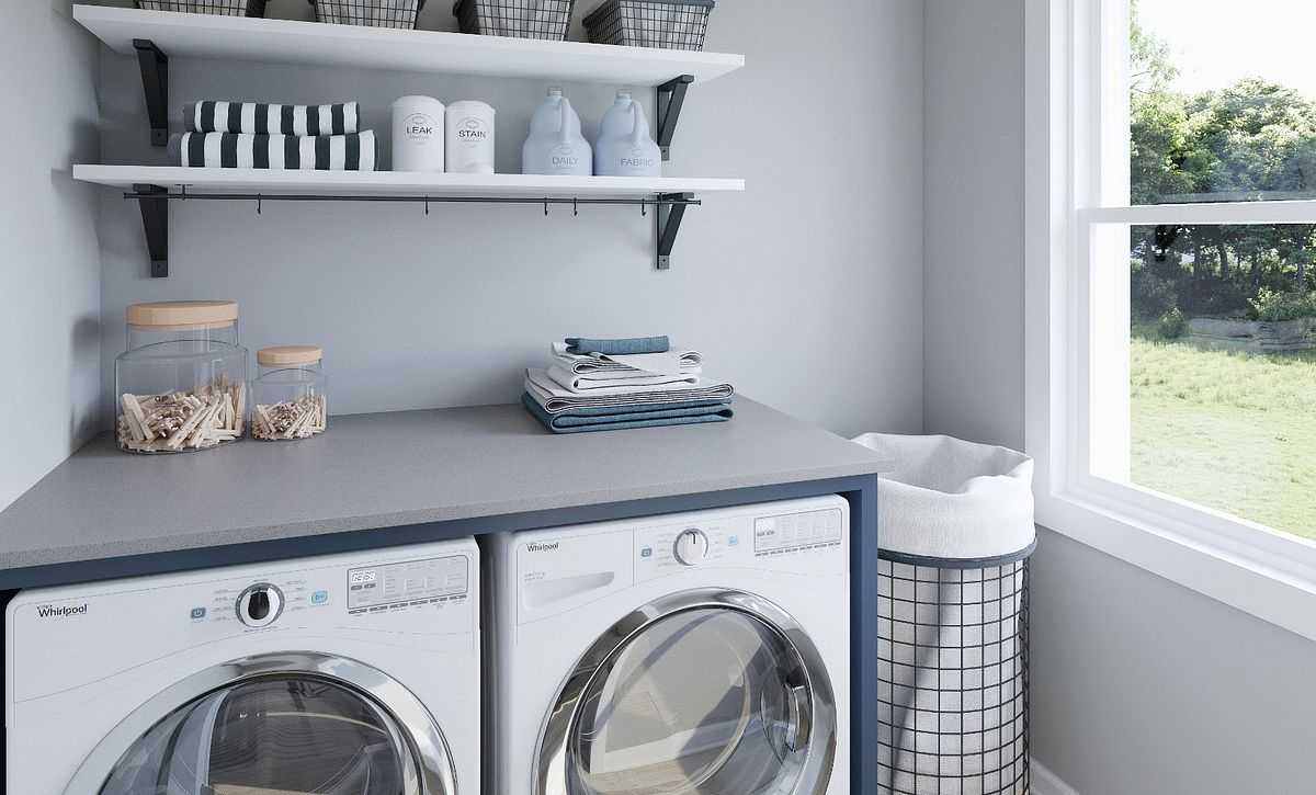 Hudson plan Laundry room