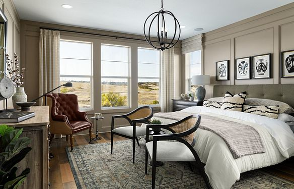 Canyons Luxe Stonehaven Master Bedroom