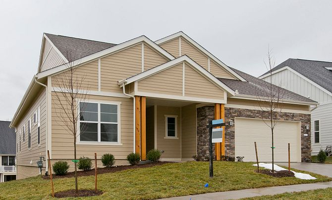 Trilogy at Lake Frederick Quick Move In Evoke Plan Exterior