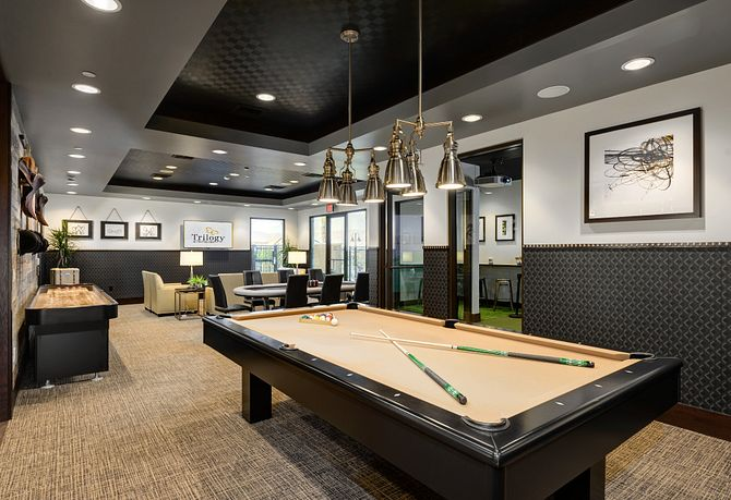 Trilogy Polo Club Billards Room