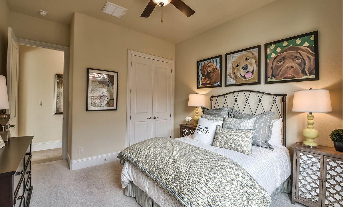 Plan 5023 Secondary Bedroom