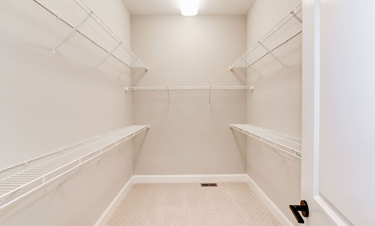 Trilogy at Lake Frederick Quick Move In Home Ascend Walk In Closet