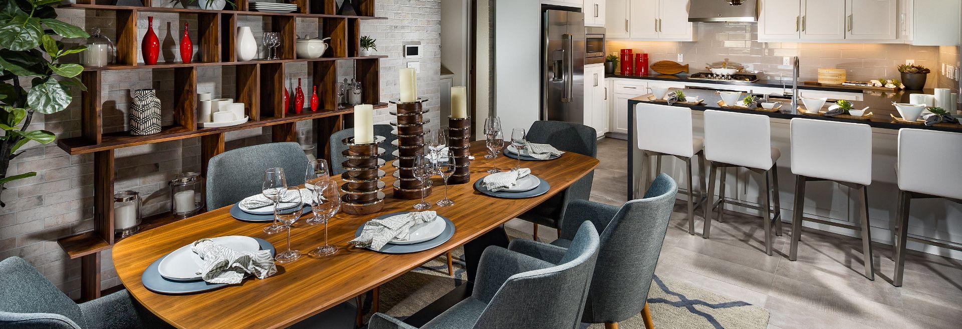 Harmony Plan 7 Sage Livermore Dining Room