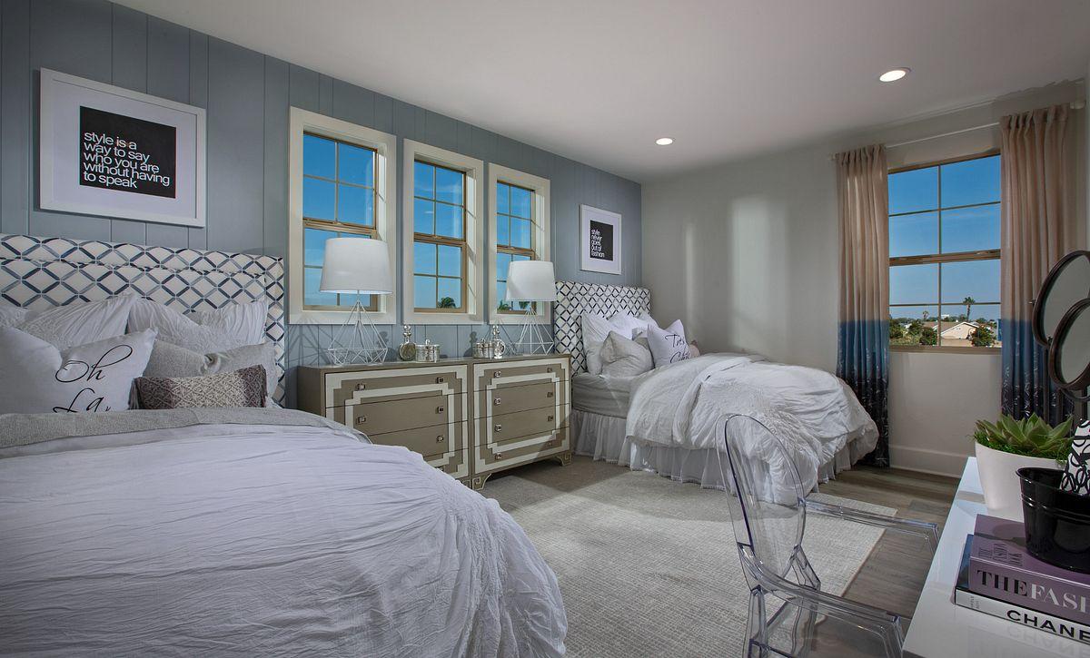 Parkside Estates Plan 4 Girl's Bedroom