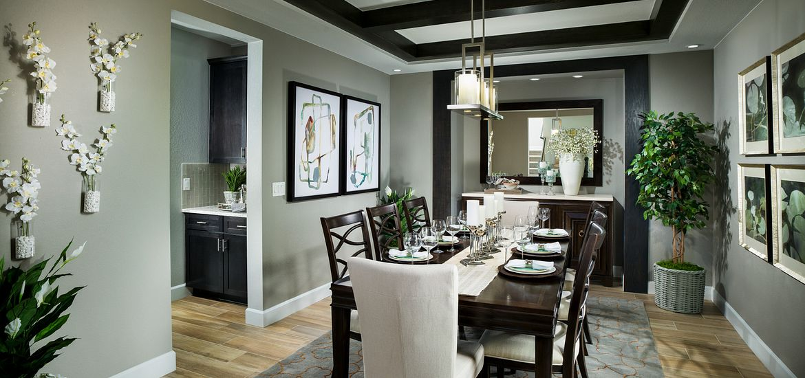 Whispering Pines Woodlands Bristlecone Formal Dining Room