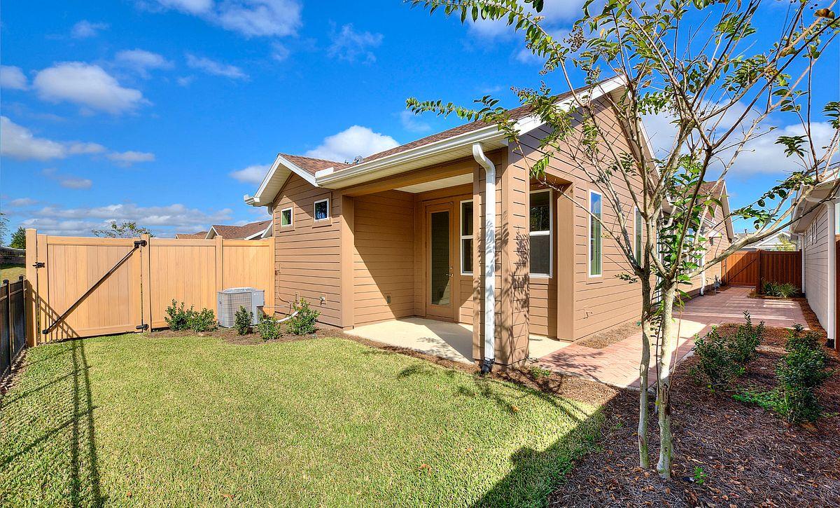 Trilogy Orlando Amalfi Plan Quick Move In Home Backyard