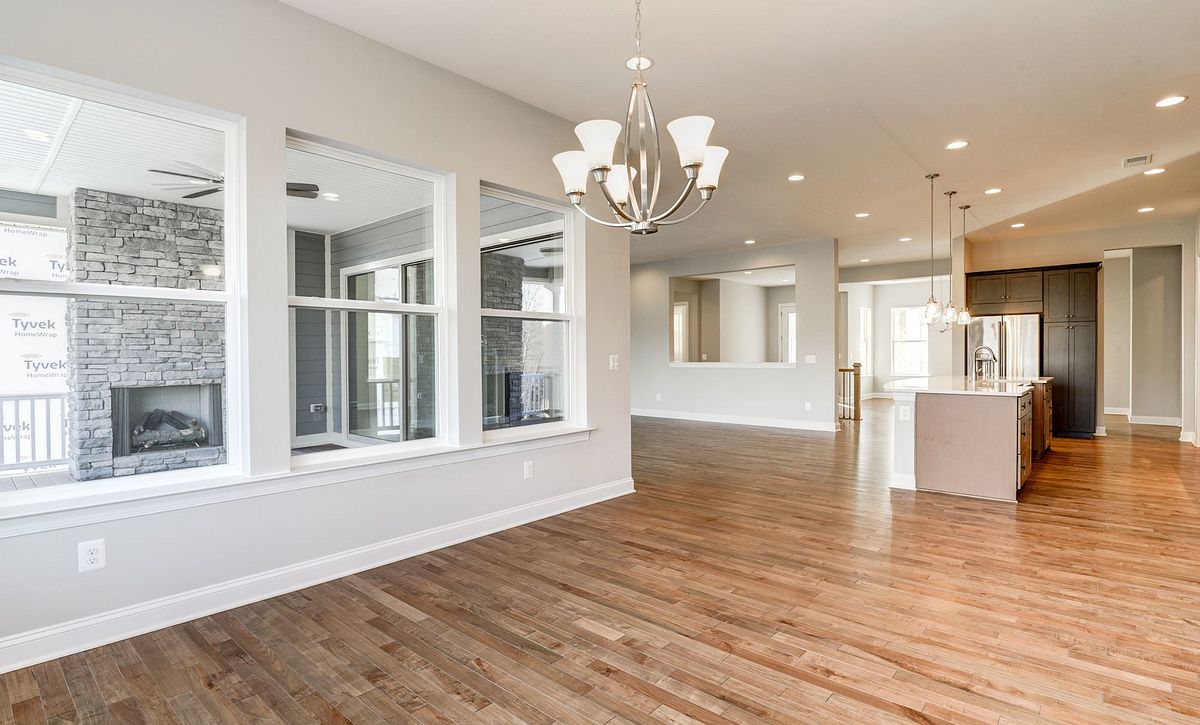Trilogy at Lake Frederick Hensely Plan Quick Move In Trilogy at Lake Frederick Hensely Plan Quick Move Morning Room