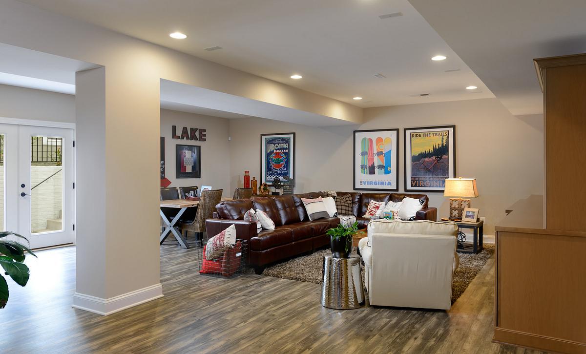 Trilogy at Lake Fredrick Refresh Plan Lower Level