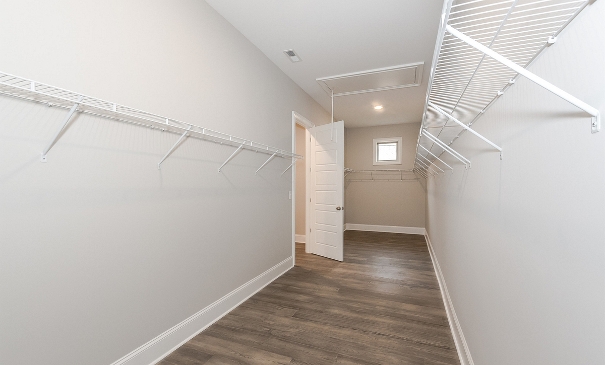 Sullivan plan master walk-in closet