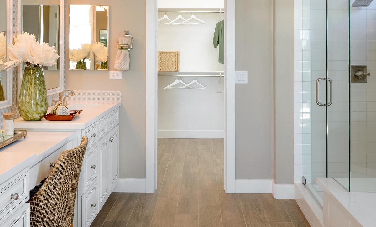 Genova Model Master Bathroom