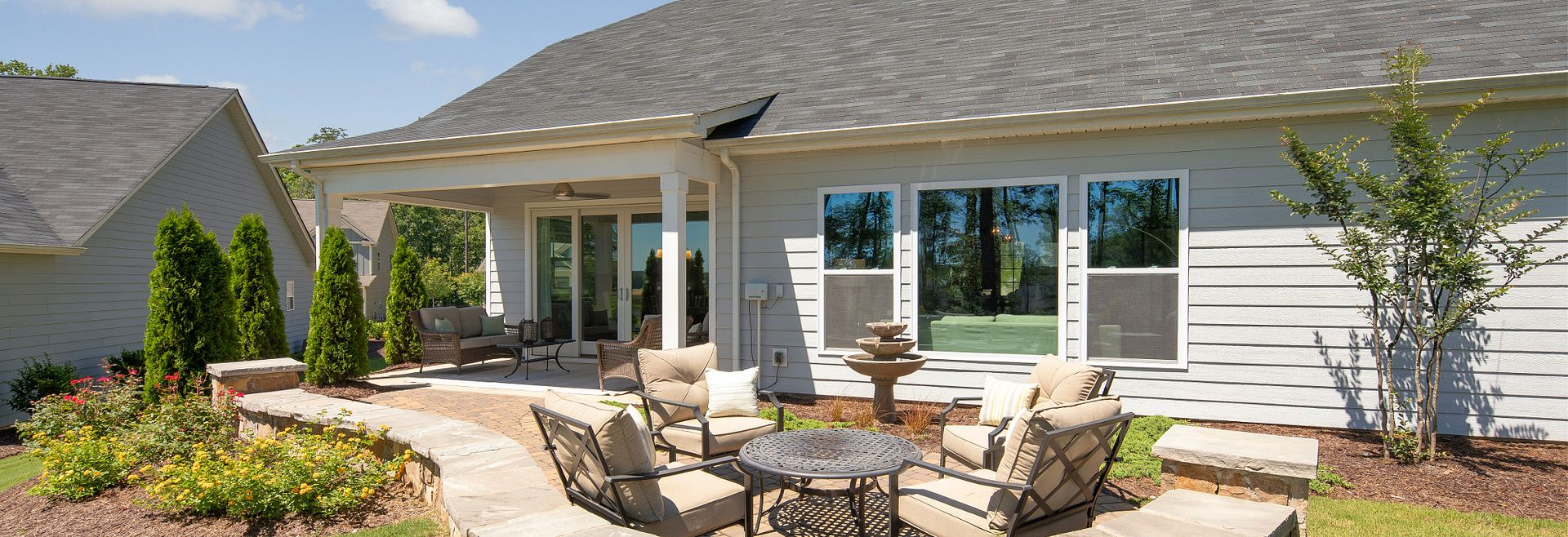 Wyndham model Porch & Patio