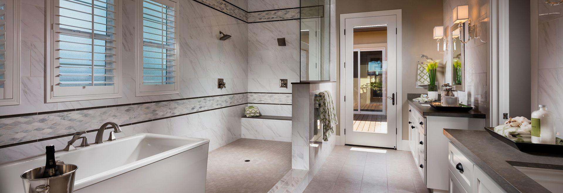 Vista Dorado Plan 3 Brentwood Spa-Style Master Bath