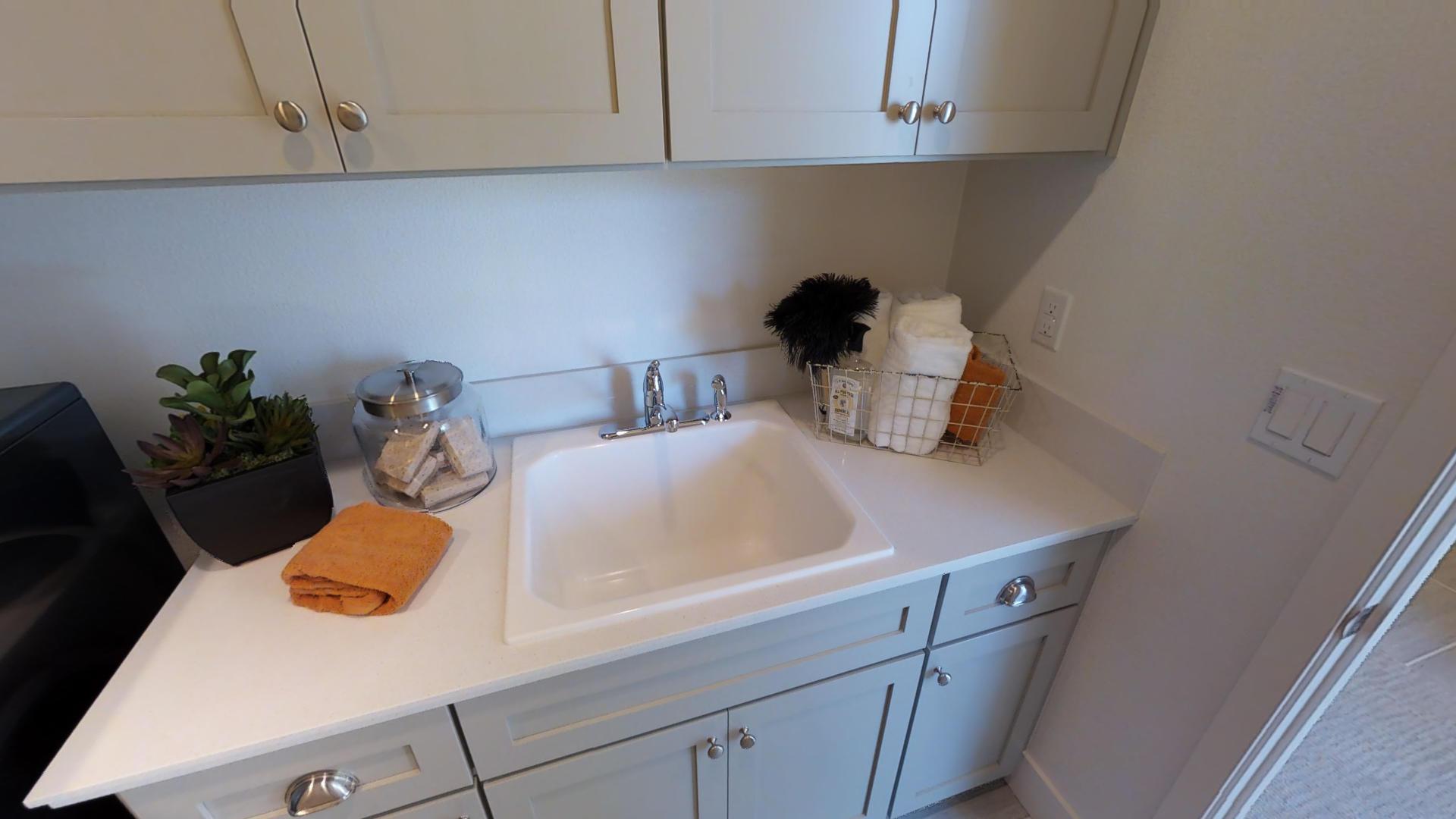 Ashford at Mountain House Plan 1 Laundry Room