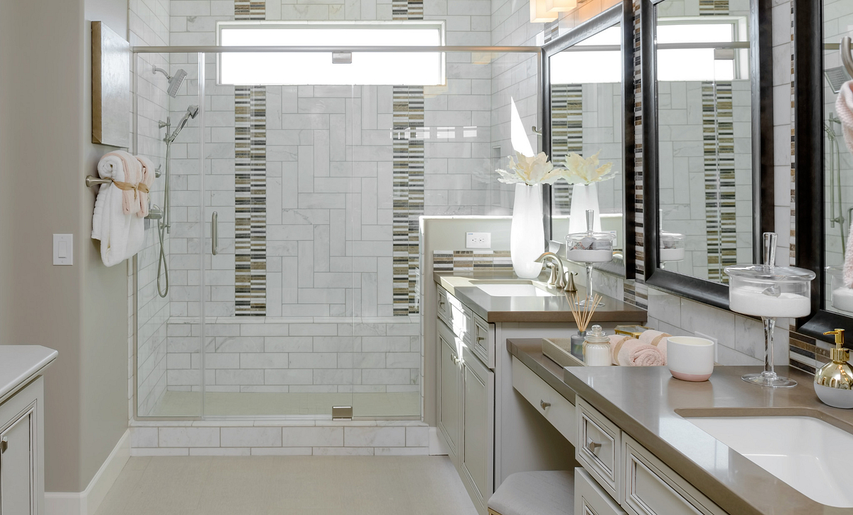 Chroma Model Master Bathroom