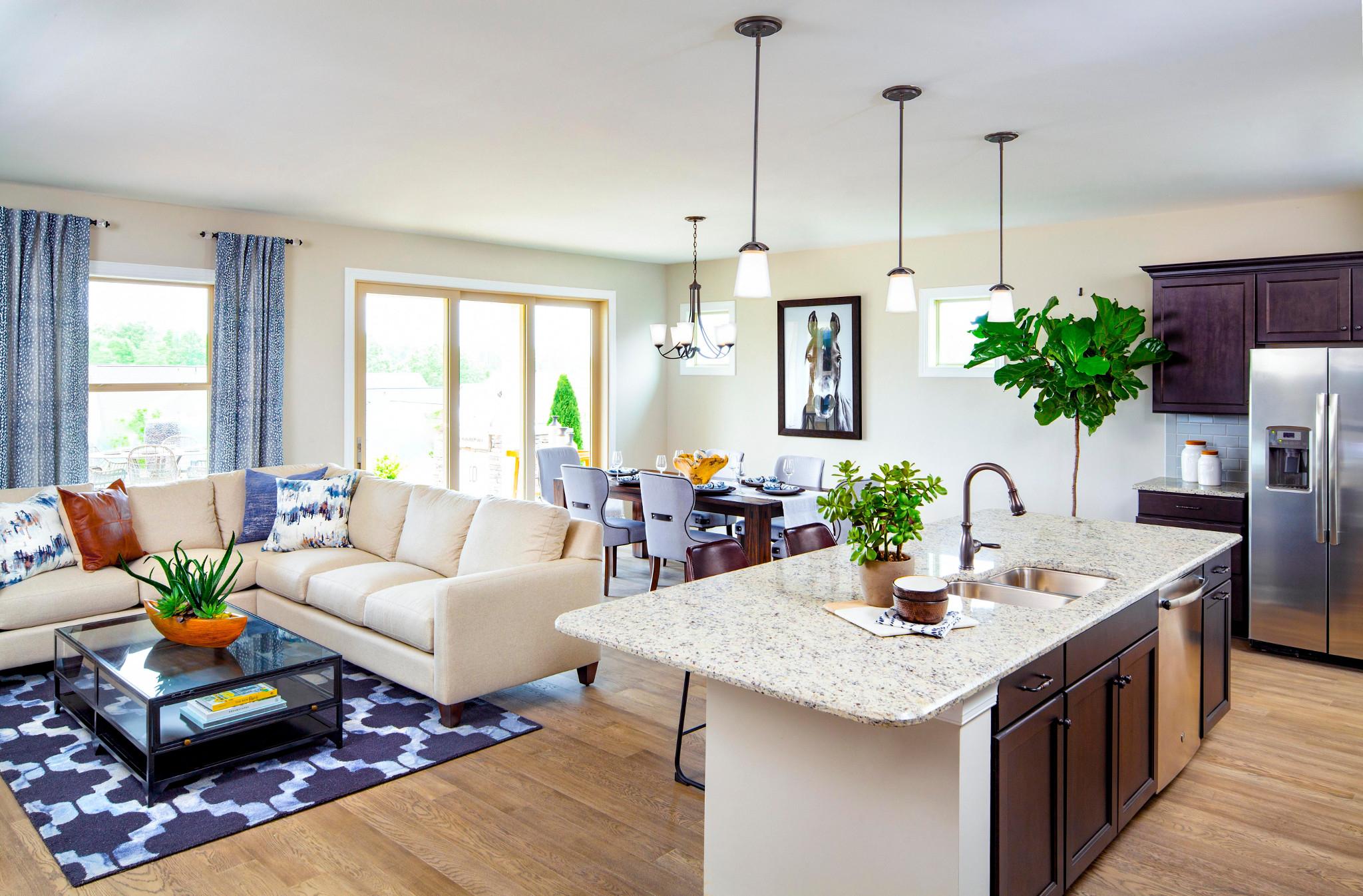 Trilogy Lake Norman Affirm Plan Great Room