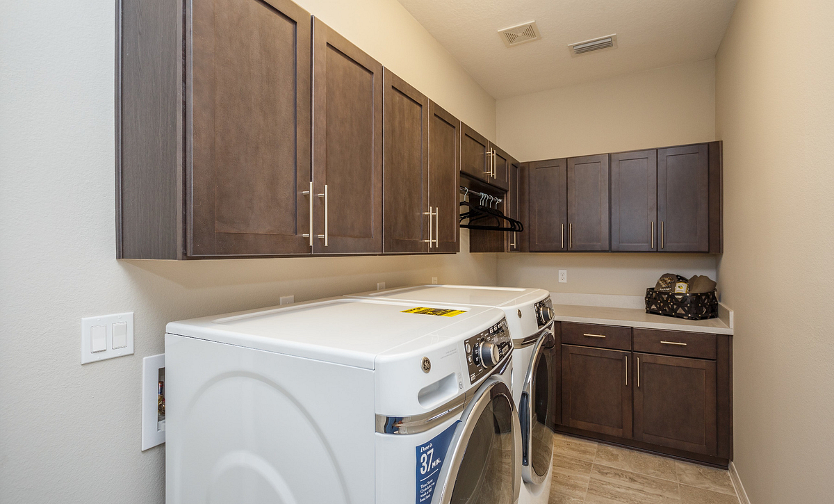 Trilogy Orlando Affirm Model Home Laundry