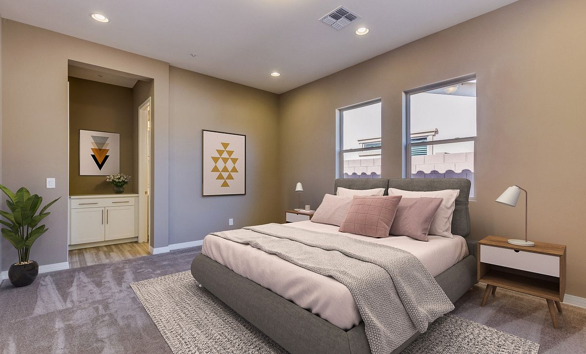 Evolve 6 Master Bedroom