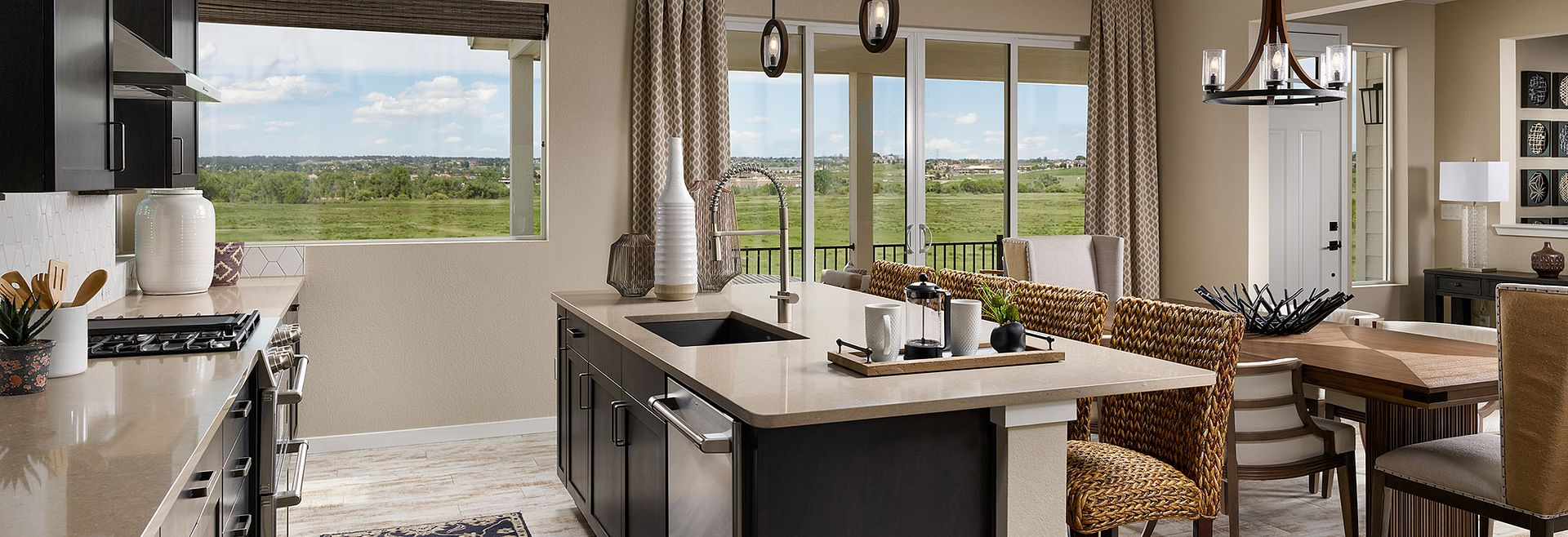 Crescendo at Central Park Plan 2205 Kitchen
