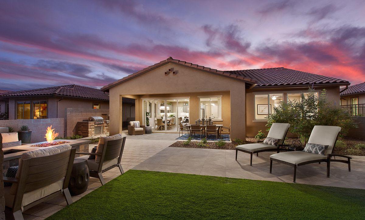 Vibrant Model Backyard