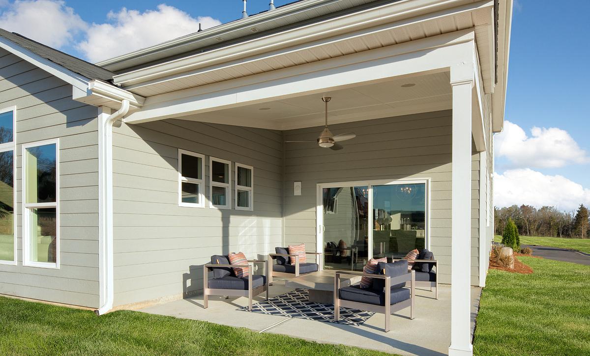 Delaney Model Covered Porch