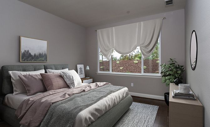 Monarch Ridge Townhome Homesite 44 Acacia+ Master Bedroom