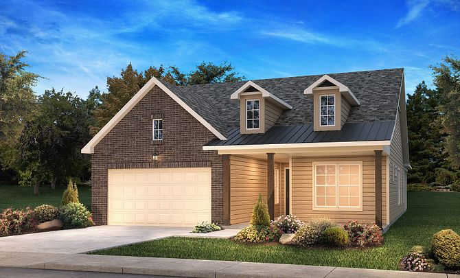 Ramsey Exterior D: Modern Country