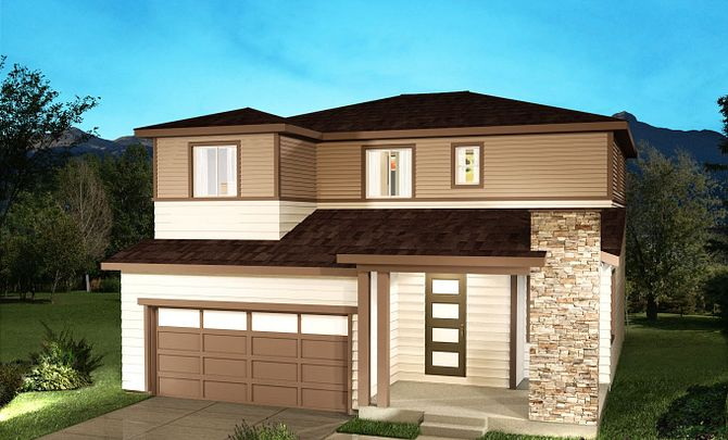 SPACES at Reunion Plan 3554 Elevation B