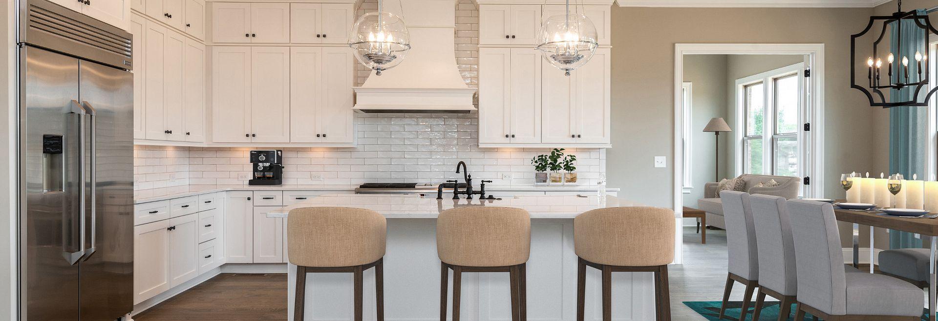 Kingsley plan Kitchen & Breakfast Room