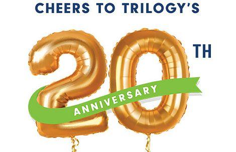 Trilogy 20 Anniversary Logo
