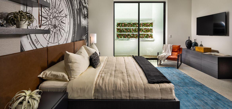 Azure Plan 3 Guest Bedroom