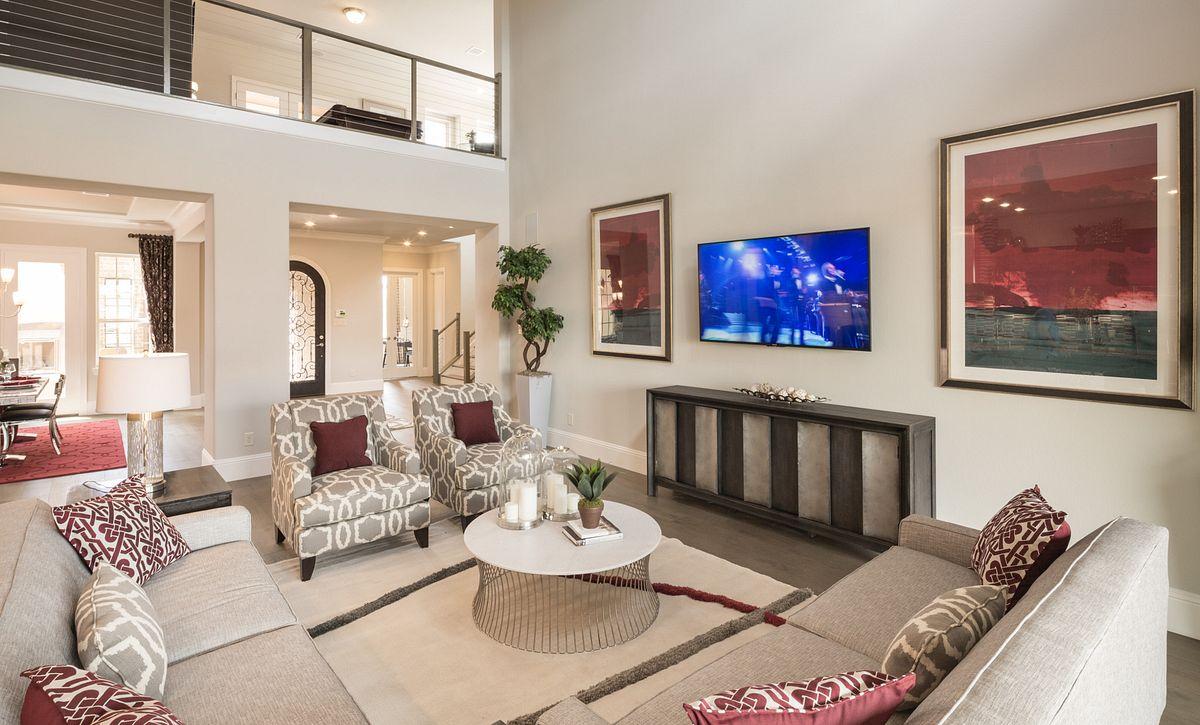 Plan 6040 Living Area