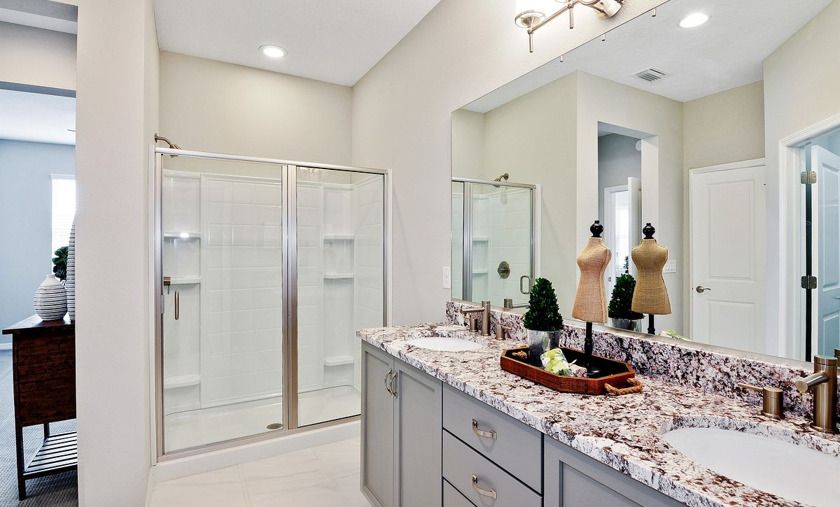 Trilogy at Ocala Preserve Quick Move In Home Muros Master Bath