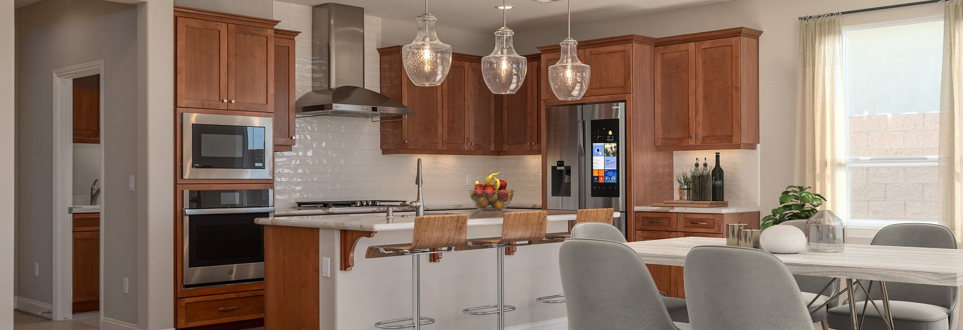 Trilogy Monarch Dunes Solvang Virtually Staged Dining