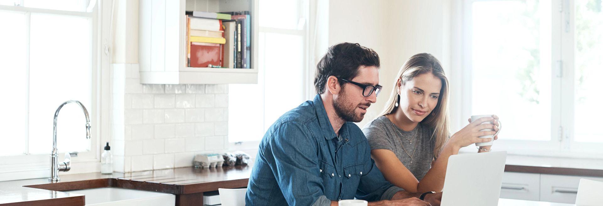 Homeowners Watching Virtually