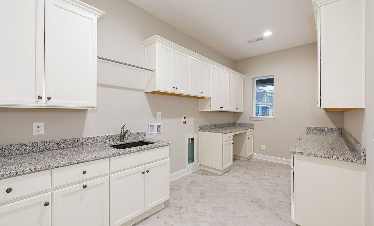 Trilogy at Lake Frederick Quick Move In Home Evoke Plan Laundry