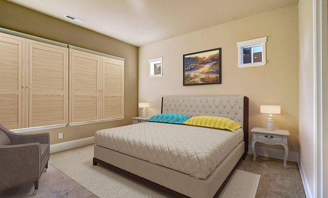 Shea Homes at Jubilee QMI 033 Master Bedroom