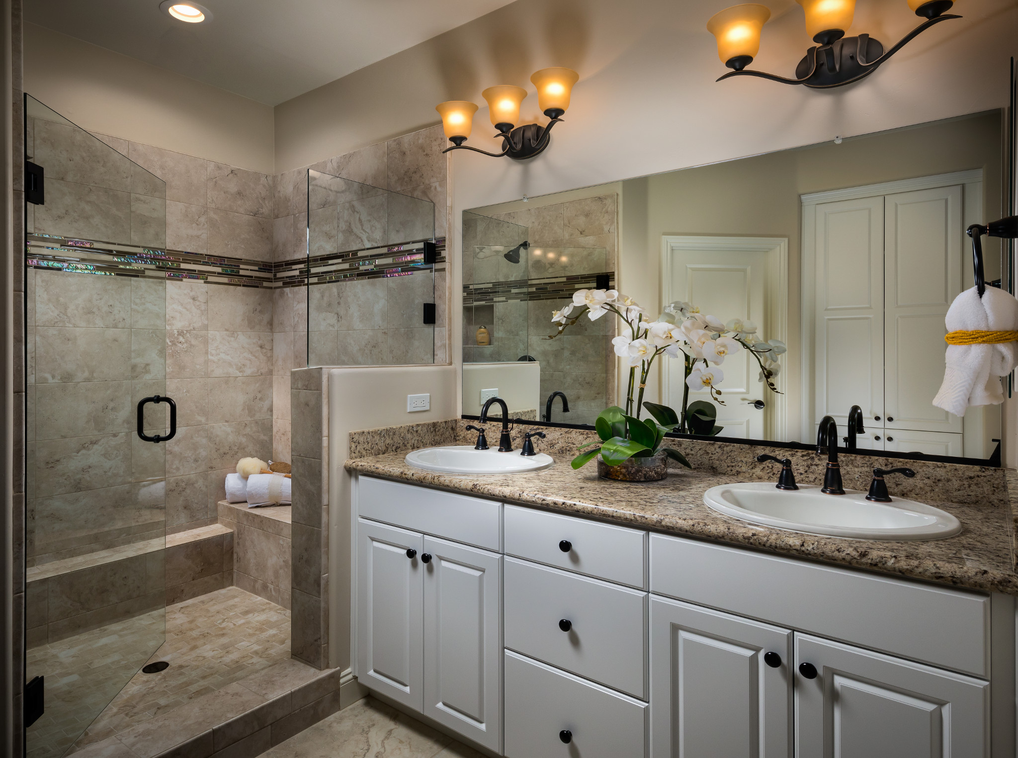 Monarch Ridge Townhomes Sage Master Bathroom
