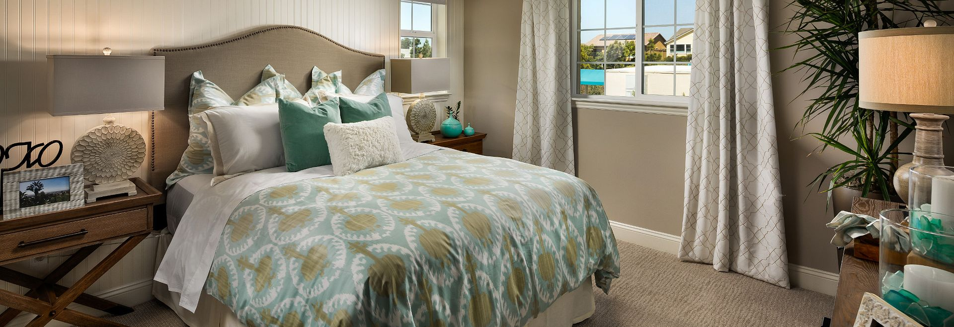 Shea Homes Rice Ranch Acacia+ Guest Bedroom