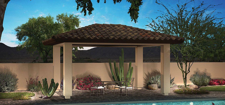Vista Montana Plan 8911 Backyard