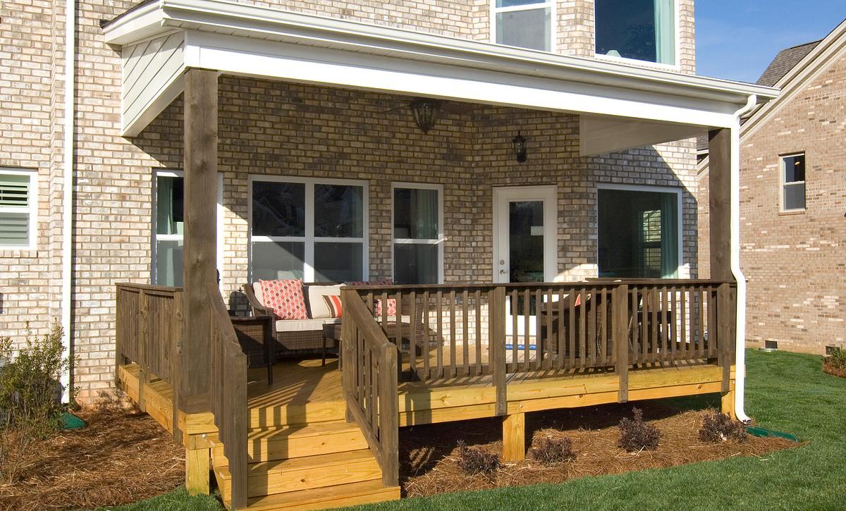 Silverado plan Rear Covered Porch option