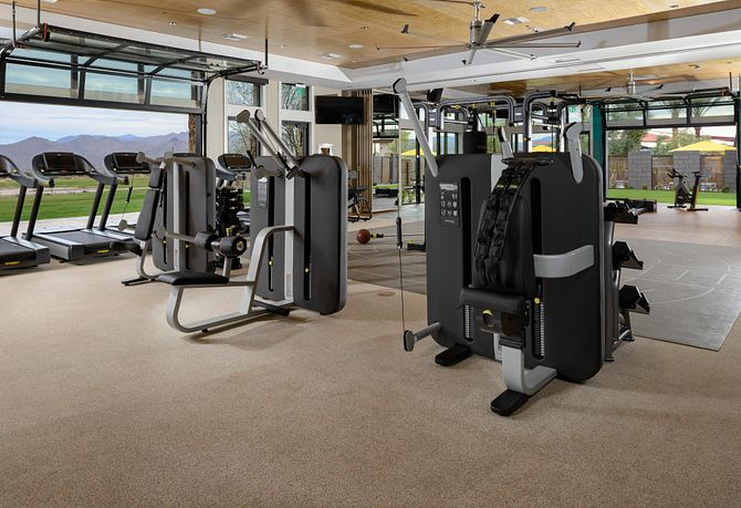 Machines in Fitness Center