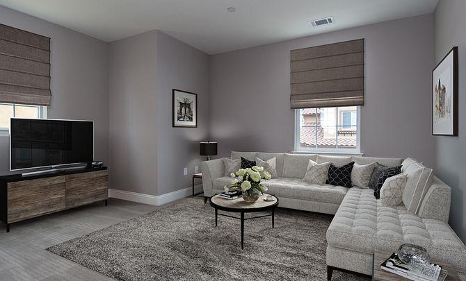 Monarch Ridge Townhome Homesite 44 Acacia+ Great Room