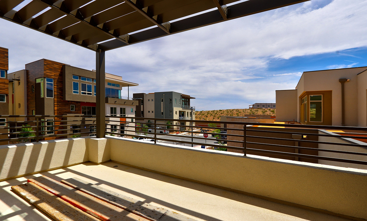 Trilogy Summerlin Splendor Upstairs Covered Patio