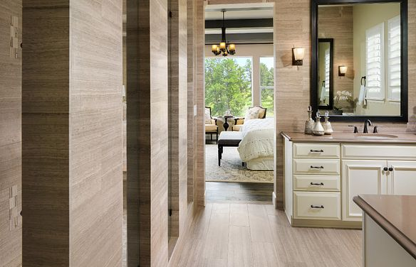 Whispering Pines Woodlands Timber Ridge Master Bath