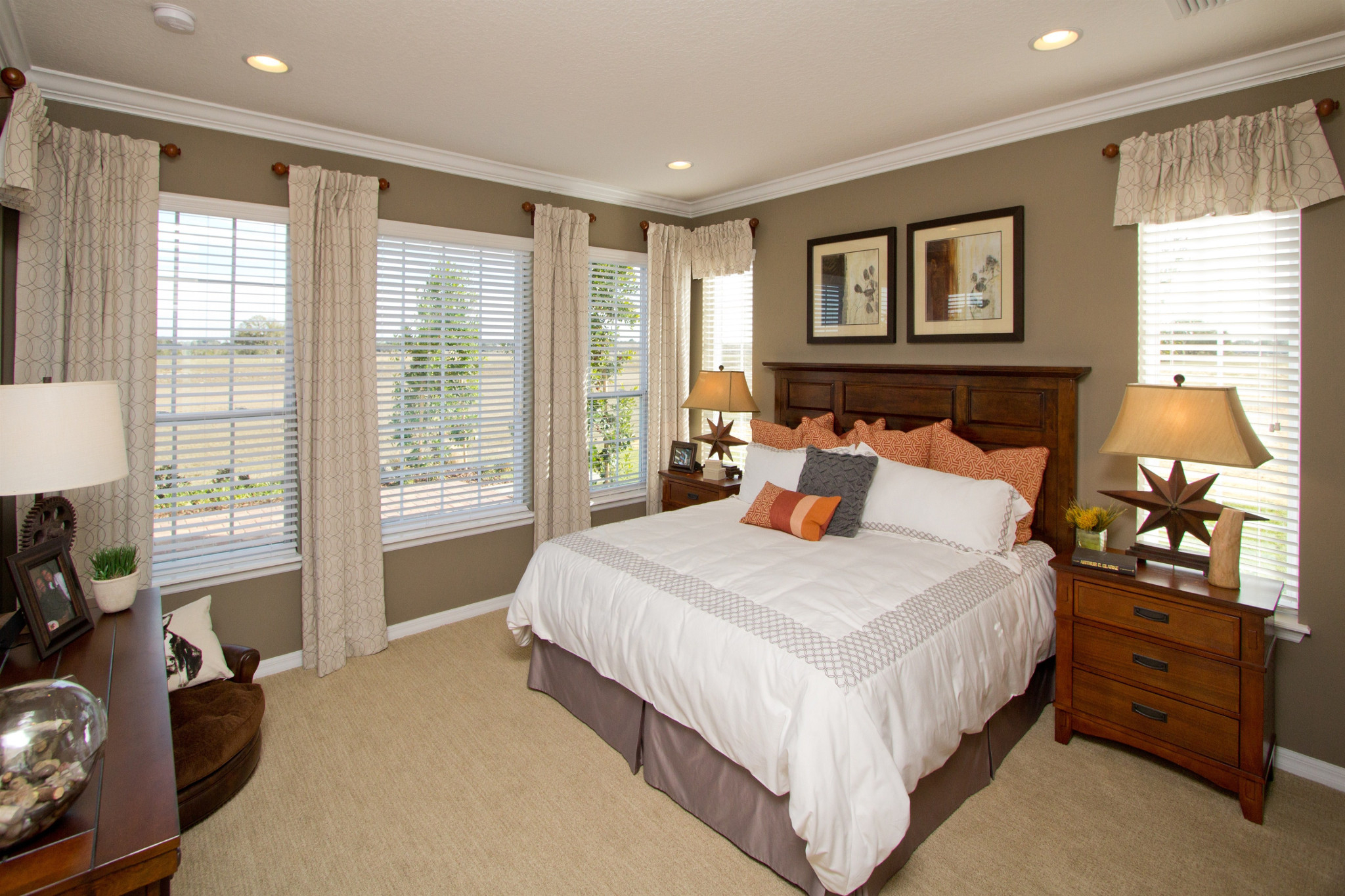 Trilogy Orlando Larkspur Plan Master Bed