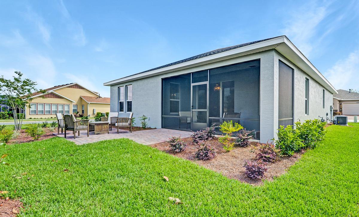 Trilogy at Ocala Preserve Affirm Model Home Rear of Home