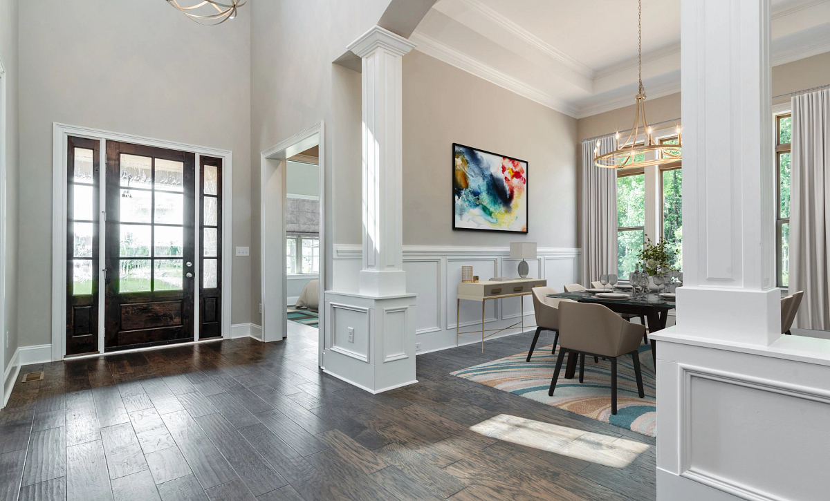 Sycamore plan Foyer & Dining Room