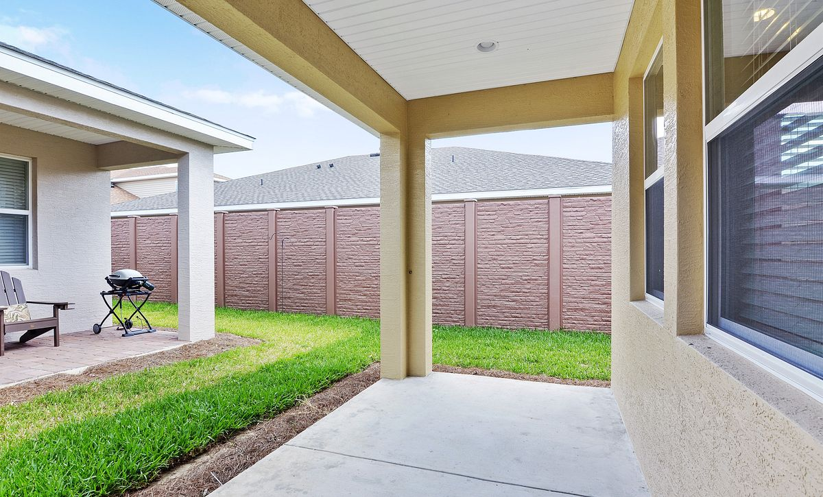 Trilogy at Ocala Preserve Quick Move In Home Muros Covered Lanai