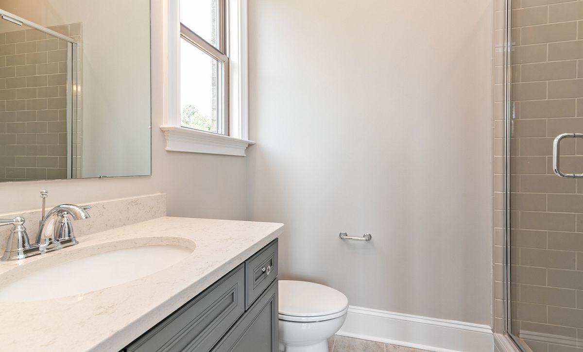 Sycamore plan guest suite bath